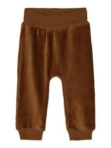 Bilde av Name it, Nbmtomon brun velourbukse