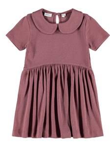 Bilde av Name it, Nmfhermiona plommefarget kortermet kjole