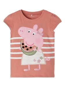 Bilde av Name it, Nmfpeppapig Renate ferskenrosa t-skjorte